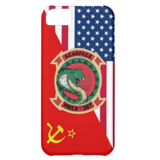 "HMLA-367 ""Scarface"" Cold War Paint Scheme iPhone 5C Case"
