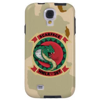 """HMLA-367 """"Scarface"""" Desert Camo Galaxy S4 Case"""