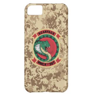 "HMLA-367 ""Scarface"" Marine Camo Cover For iPhone 5C"