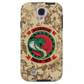"HMLA-367 ""Scarface"" Marine Camo Galaxy S4 Case"