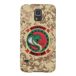 "HMLA-367 ""Scarface"" Marine Camo Galaxy S5 Case"