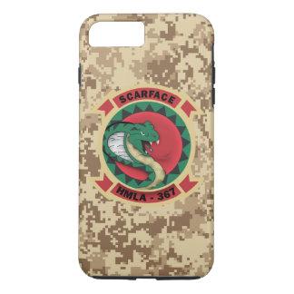 """HMLA-367 """"Scarface"""" Marine Camo iPhone 8 Plus/7 Plus Case"""
