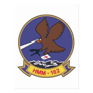 HMM-162 Patch Postcard