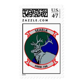 HmM-166 Insignia Postage