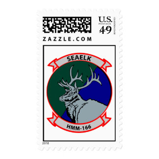 HmM-166 Insignia Postage Stamp
