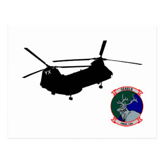 HMM-166 insignia Postcard
