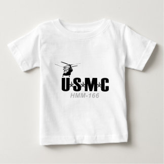 HMM-166  'Sea Elk Family' Baby T-Shirt