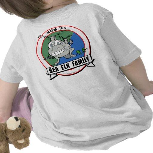HMM-166  'Sea Elk Family' Tee Shirt