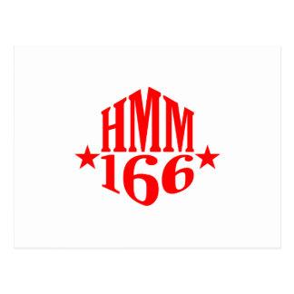 HMM-166  Stars Duogram Postcard