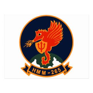HMM-265 Dragons Postcard