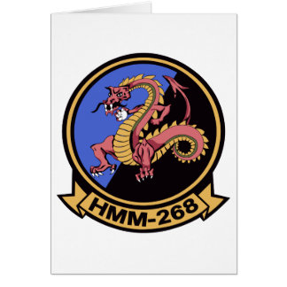 HMM-268 Red Dragons Greeting Cards