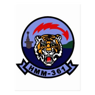 HMM-361 POSTCARD