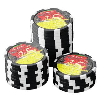 Hmm awful art poker chip set