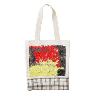 Hmm awful art zazzle HEART tote bag