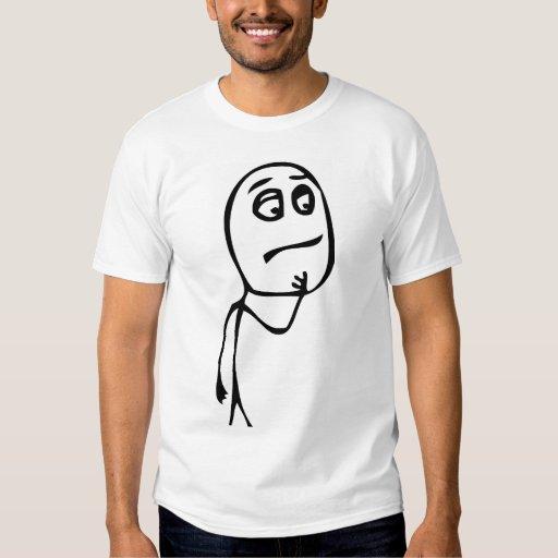 HMM… camiseta Poleras