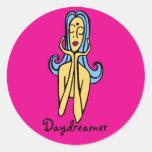 hmm... - Daydreamer Sticker