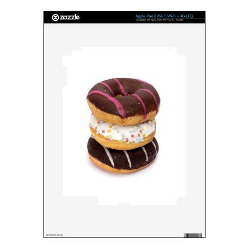 hmmmm doughnuts iPad 3 skins
