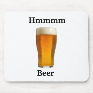 Hmmmmm beer mouse pads