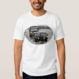 HMMWV and Military Truck T Shirt