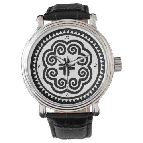 Hmong Moo Wrist Watch