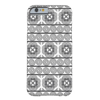 Hmong Motif in Gray Barely There iPhone 6 Case