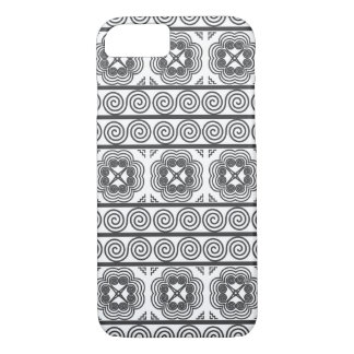 Hmong Motif in Gray iPhone 8/7 Case
