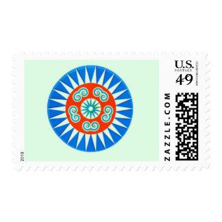 Hmong Paj Ntaub Postage