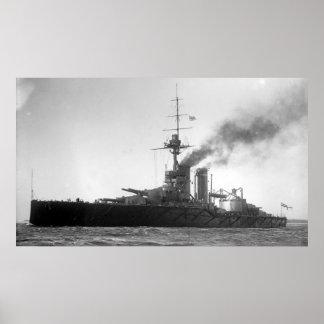 HMS Audacious Poster
