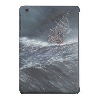 HMS Beagle in a storm off Cape Horn iPad Mini Retina Covers
