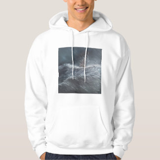 HMS Beagle in a storm off Cape Horn Hoodie