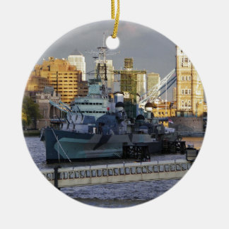 HMS Belfast. Ceramic Ornament