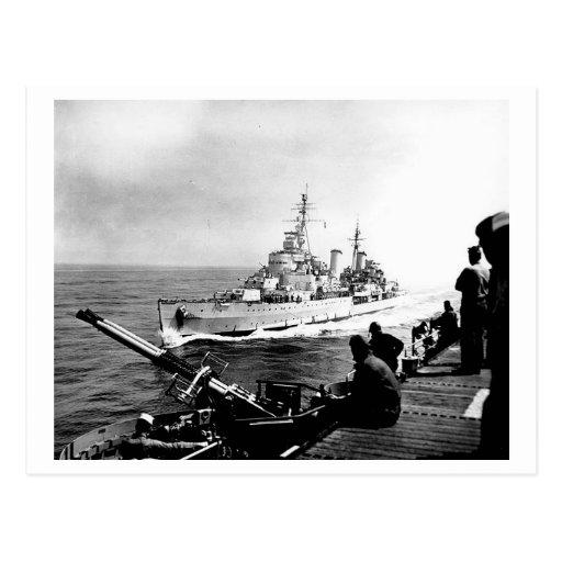 HMS Belfast Tarjetas Postales