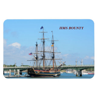 HMS BOUNTY RECTANGLE MAGNETS