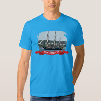 HMS Bounty Tall Ship Photo T-shirt