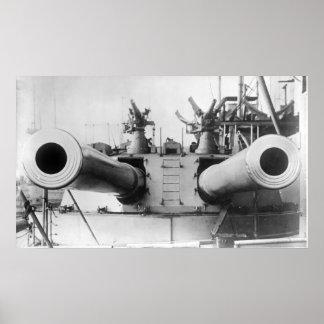 HMS Dreadnought Poster