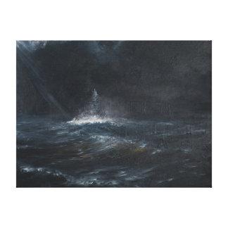 HMS Duke of York 1943 2014 Canvas Print