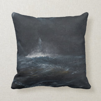 HMS Duke of York 1943 2014 Throw Pillow