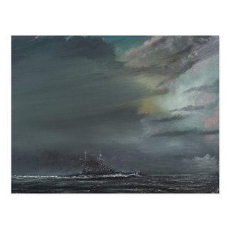 HMS Hood 1941 2014 Postales
