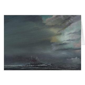 HMS Hood 1941 2014 Tarjeta De Felicitación