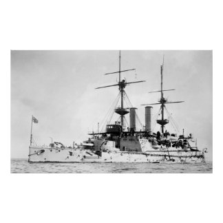 HMS Hood Poster