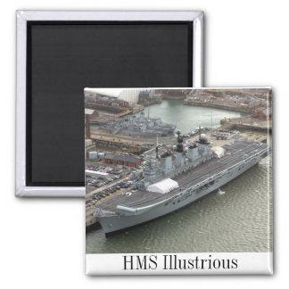 HMS Illustrious Imán Para Frigorífico