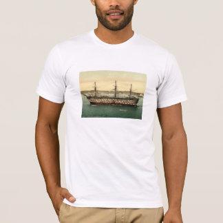 HMS Impregnable, Plymouth, Devon, England T-Shirt