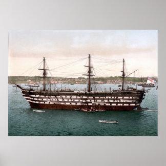 HMS Impregnable Poster