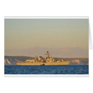 HMS Monmouth Tarjeta De Felicitación