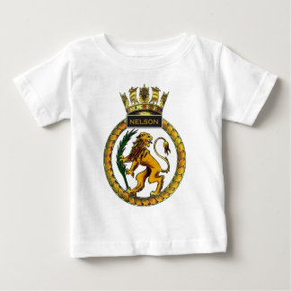 HMS Nelson, stone frigate, Portsmouth Baby T-Shirt
