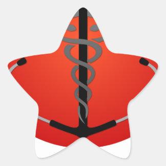 HMS Official Gear Star Sticker