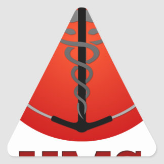 HMS Official Gear Triangle Sticker