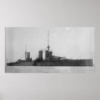 HMS Princess Royal Poster