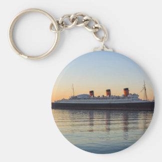 HMS Queen Mary Llavero Redondo Tipo Pin