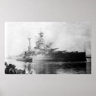 HMS Ramillies Poster